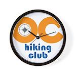 OC Hiking Club Wall Clock