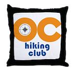 OC Hiking Club Throw Pillow
