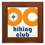 OC Hiking Club Framed Tile