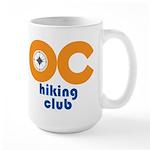 OC Hiking Club Large Mug