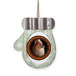 Pomeranian Dog Mitten Ornament