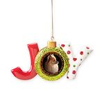 Pomeranian Dog Joy Ornament
