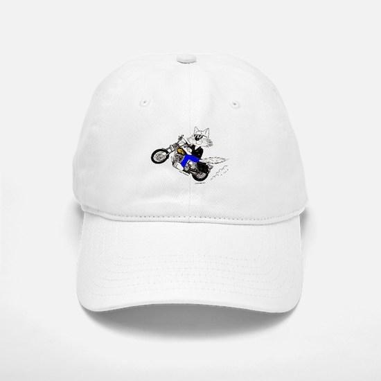 Motorcycle Cat Baseball Baseball Cap
