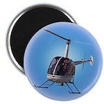 Helicopter Flying Aviator Magnet
