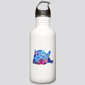 French Bulldog Frenchies Stainless Water Bottle 1.