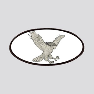 Harpy Swooping Drawing Patch
