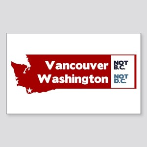 Vancouver Sticker (Rectangle)
