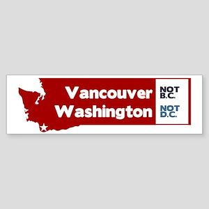 Vancouver Sticker (Bumper)