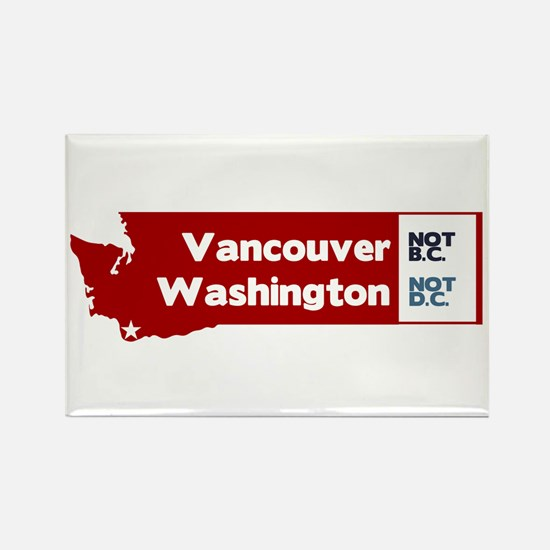 Vancouver Rectangle Magnet