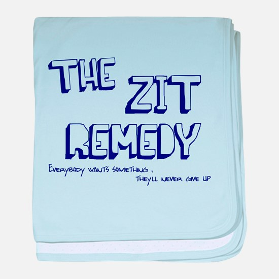The Zit Remedy baby blanket