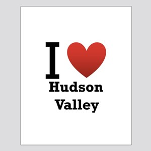 I Love Hudson Valley Small Poster