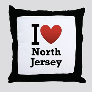I <3 North Jersey Throw Pillow