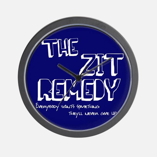 The Zit Remedy Wall Clock