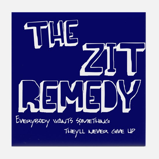 The Zit Remedy Tile Coaster