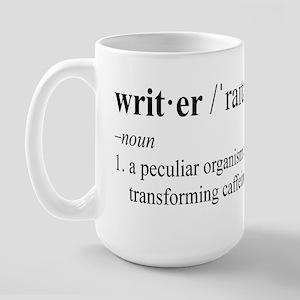 WRITER Large Mug
