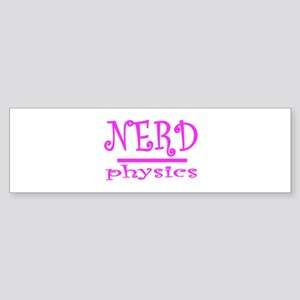 physics nerd Sticker (Bumper)