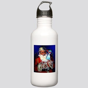 Assange Claus Stainless Water Bottle 1.0L