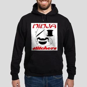 ninja stitchers Hoodie (dark)