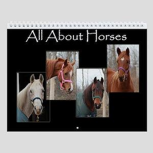 All About Horses Calendar