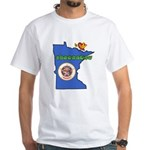 ILY Minnesota White T-Shirt