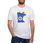 ILY Minnesota Fitted T-Shirt