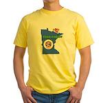 ILY Minnesota Yellow T-Shirt