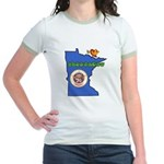 ILY Minnesota Jr. Ringer T-Shirt