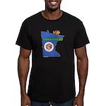 ILY Minnesota Men's Fitted T-Shirt (dark)