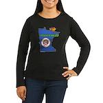 ILY Minnesota Women's Long Sleeve Dark T-Shirt