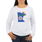 ILY Minnesota Women's Long Sleeve T-Shirt