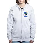 ILY Minnesota Women's Zip Hoodie