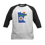 ILY Minnesota Kids Baseball Jersey