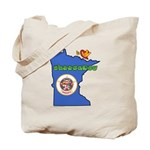 ILY Minnesota Tote Bag