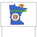 ILY Minnesota Yard Sign