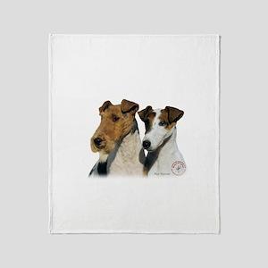 Fox Terrier 9T008D-30 Throw Blanket