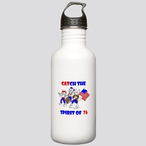CAT-CH THE SPIRIT OF 76™ Stainless Water Bottle 1.