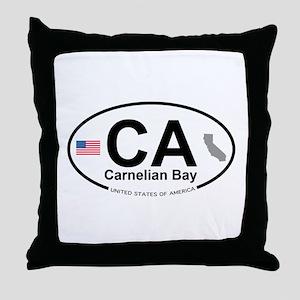 Carnelian Bay Throw Pillow