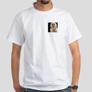 BYE BYE BABY White T-Shirt