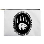 Tribal Bear Claw Makeup Bag