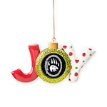 Tribal Bear Claw Joy Ornament