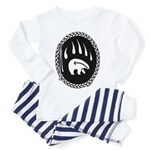 Tribal Bear Claw Toddler Pajamas