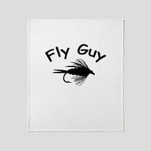 FLY GUY Throw Blanket
