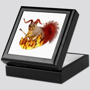 Krampus Squirrel Keepsake Box
