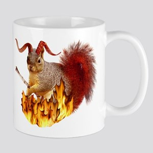 Krampus Squirrel Mug