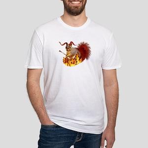 Krampus Squirrel Fitted T-Shirt