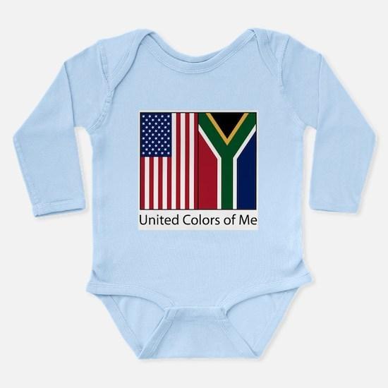 US SA Me Long Sleeve Infant Bodysuit