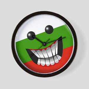 Bulgarian Smile Wall Clock