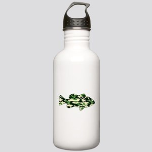 CAMO BASS Stainless Water Bottle 1.0L