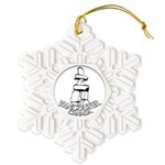 Vancouver Inukshuk Souvenir Snowflake Ornament