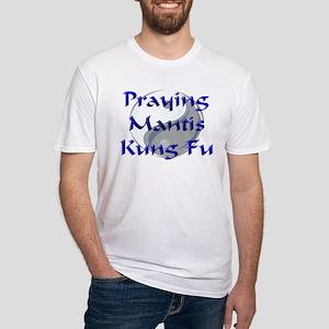 Praying Mantis Kung Fu Fitted T-Shirt